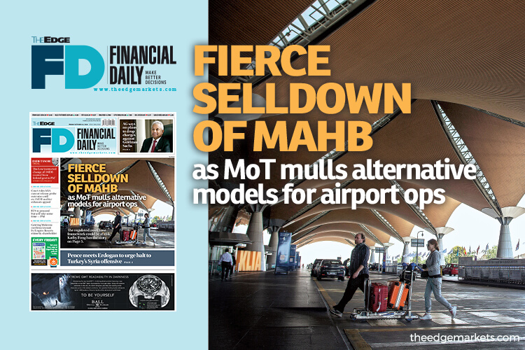 Fierce selldown of MAHB as MoT mulls alternative models for airport ops