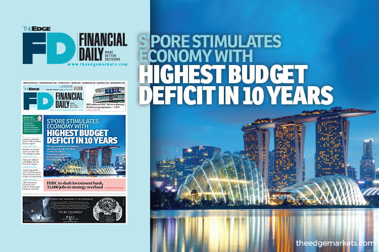 Singapore stimulates economy with highest budget deficit in 10 years