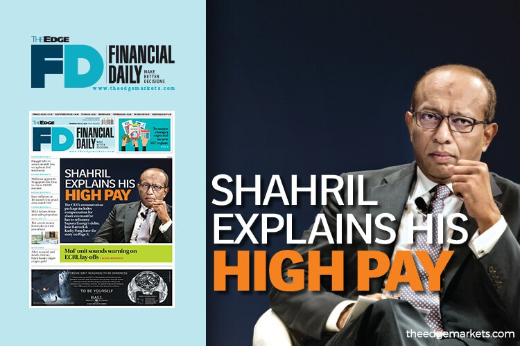 Shahril解释高薪酬原因