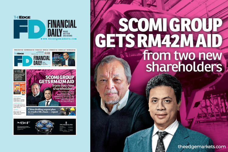 Scomi Group gets RM42m loans from two new shareholders