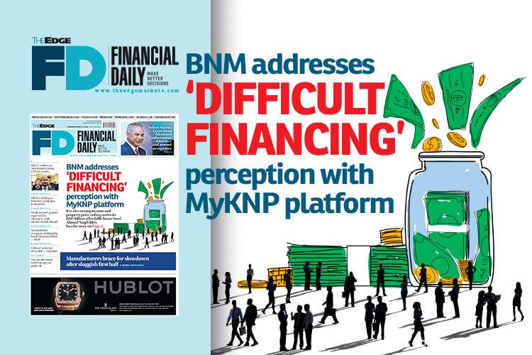 BNM addresses 'difficult financing' perception with MyKNP platform