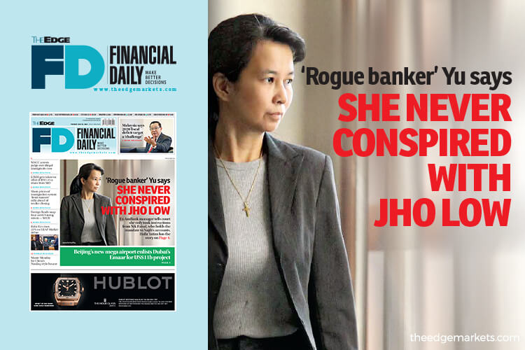 'Rogue banker' Yu says she never conspired with Jho Low
