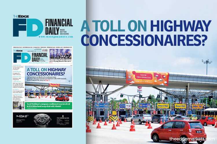 A toll on highway concessionaires?