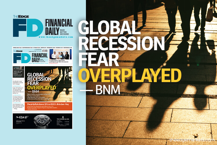 Global recession fear overplayed — BNM