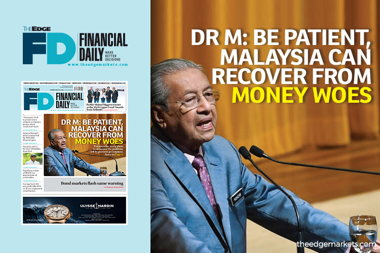 Dr M: Be patient, Malaysia can recover from money woes