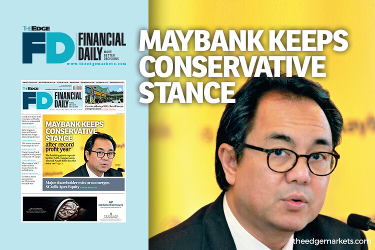 Maybank keeps conservative stance after record profit year
