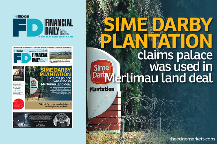 SD Plantation claims palace was used in Merlimau land deal