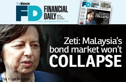 Zeti: Malaysia's bond market won't collapse