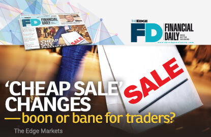 'Cheap sale' changes — boon or bane for traders?