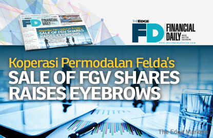 KPF's sale of FGV shares raises eyebrows