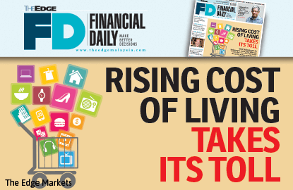 Rising cost of living takes its toll