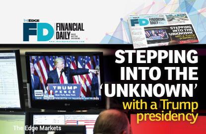 Trump当选美国总统 开启不确定时期