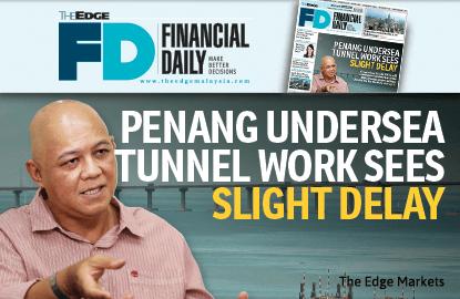 槟城海底隧道工程稍微延期