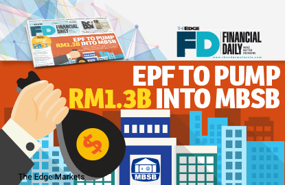 EPF注资13亿令吉予马建屋