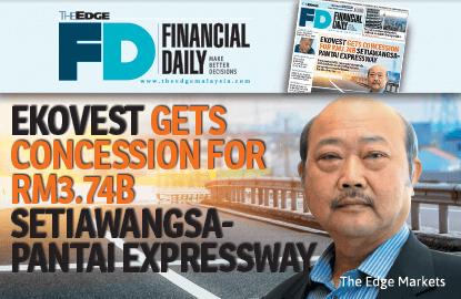 怡克伟士获37.4亿斯迪亚旺沙-班台大道经营权