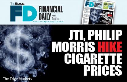 JTI, Philip Morris hike cigarette prices