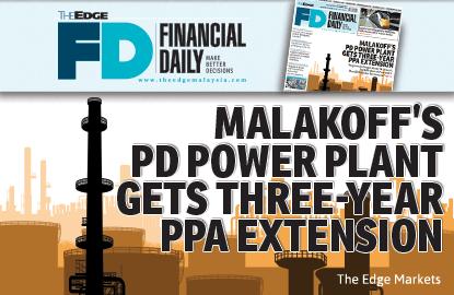 Malakoff波德申发电厂获延长购电协议3年