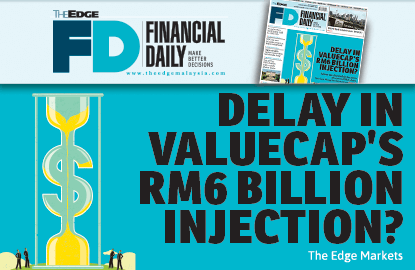 Delay in ValueCap's RM6b injection?