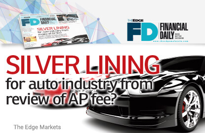 Silver lining for auto industry from review of AP fee?