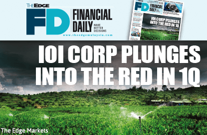 IOI Corp plunges into the red in 1Q