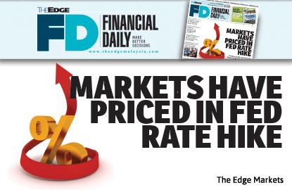 市场已全然反映美联储升息的消息
