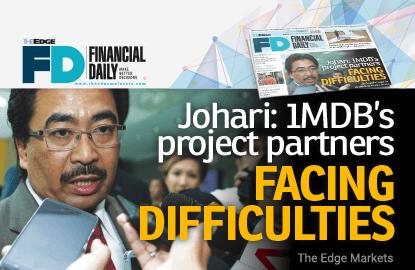 佐哈里:1MDB发展项目伙伴面临融资困境