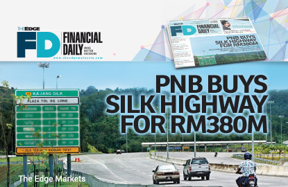 PNB buys SILK Highway for RM380m