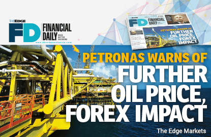 Petronas warns of further oil price, forex impact