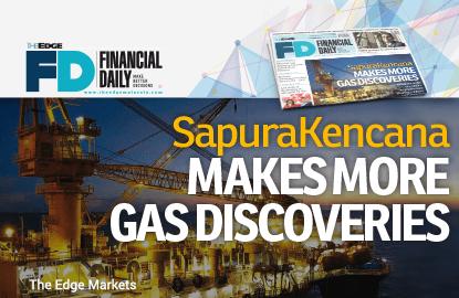 SapuraKencana发现更多天然气蕴藏