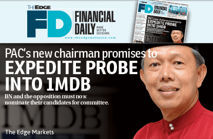 PAC's new chairman to expedite 1MDB probe