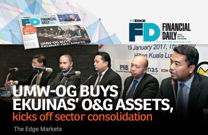 UMW-OG buys Ekuinas' O&G assets