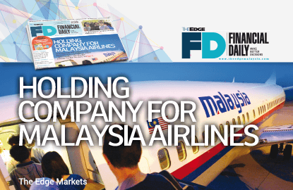 Holding company for Malaysia Airlines