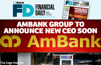 AmBank Group to announce new CEO soon