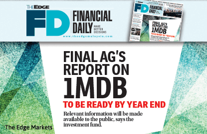 Final AG's report on 1MDB to be ready by year end
