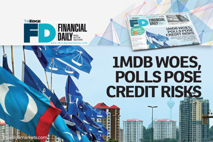 1MDB woes, polls pose risk to Malaysia's sovereign rating