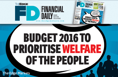Budget 2016 to prioritise welfare of the people