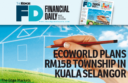 EcoWorld plans RM15b township in Kuala Selangor