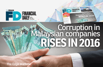 Corruption in Malaysian firms rises in 2016 — PwC