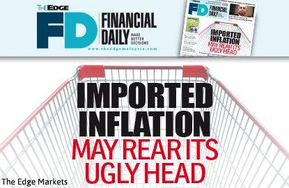 Imported inflation may rear its ugly head