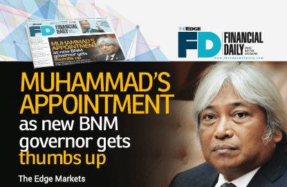 Muhammad's appointment as BNM chief gets thumbs up