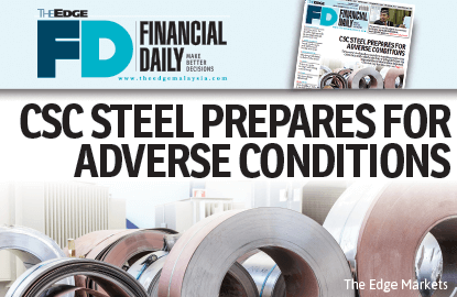 CSC Steel prepares for adverse conditions