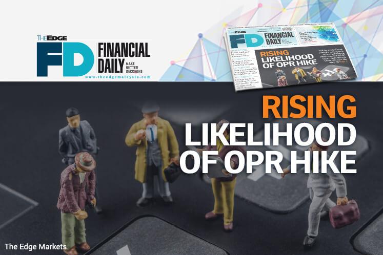 Rising likelihood of OPR hike