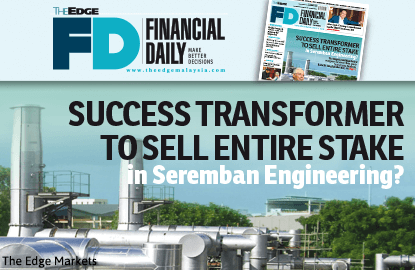 Success Transformer to sell its SEB stake?