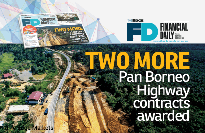 Two more Pan Borneo Highway contracts awarded