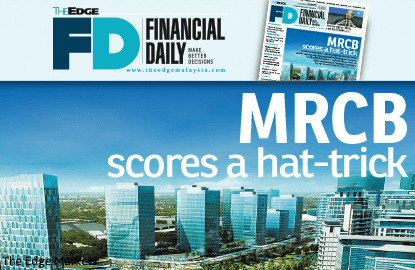 MRCB scores a hat-trick