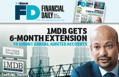 1MDB gets extension to submit audited accounts