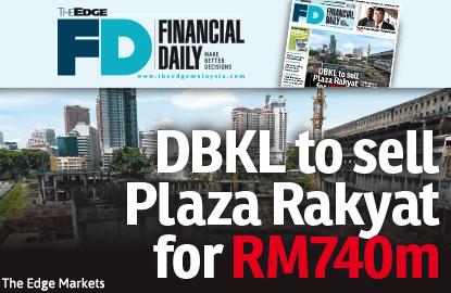 Tengku Adnan: DBKL to sell Plaza Rakyat for RM740m