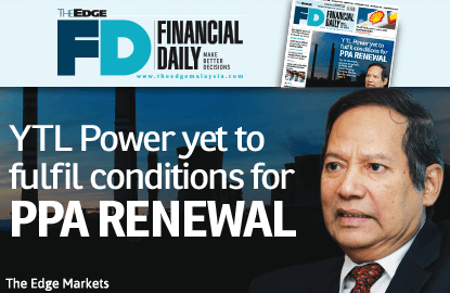YTL Power yet to fulfil conditions for PPA renewal