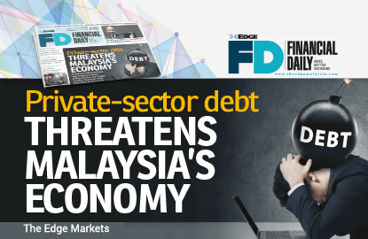 Private-sector debt threatens Malaysia's economy