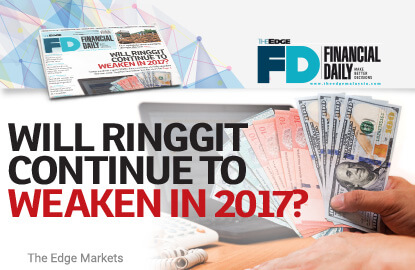 Will Ringgit Continue To Weaken In 2017 The Edge Markets